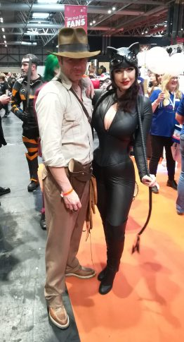 Indy and Catwoman