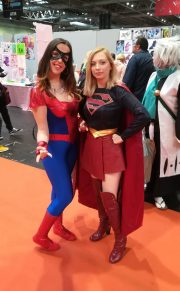 Spidey and Supergirl