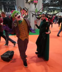 Joker and Hela