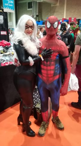 Black Cat and Spidey