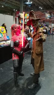 Darth Talon and Scarecrow