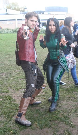 Star Lord and Mantis